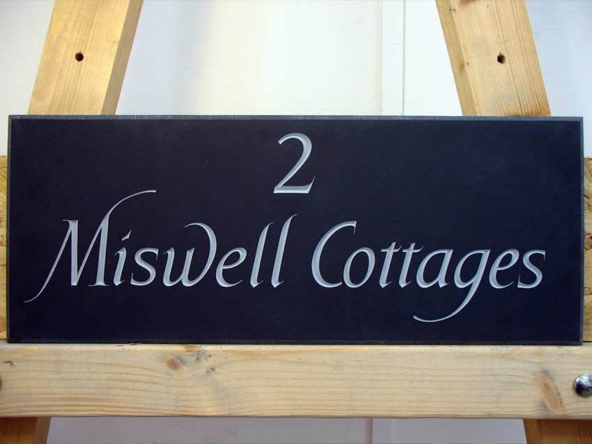 Hand Carved House Signs or Plaques