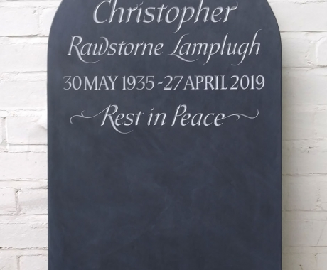 Welsh Slate Headstone